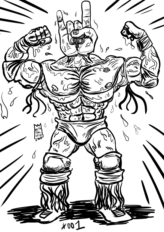 INTERDIMENSIONAL WRESTLERS 001