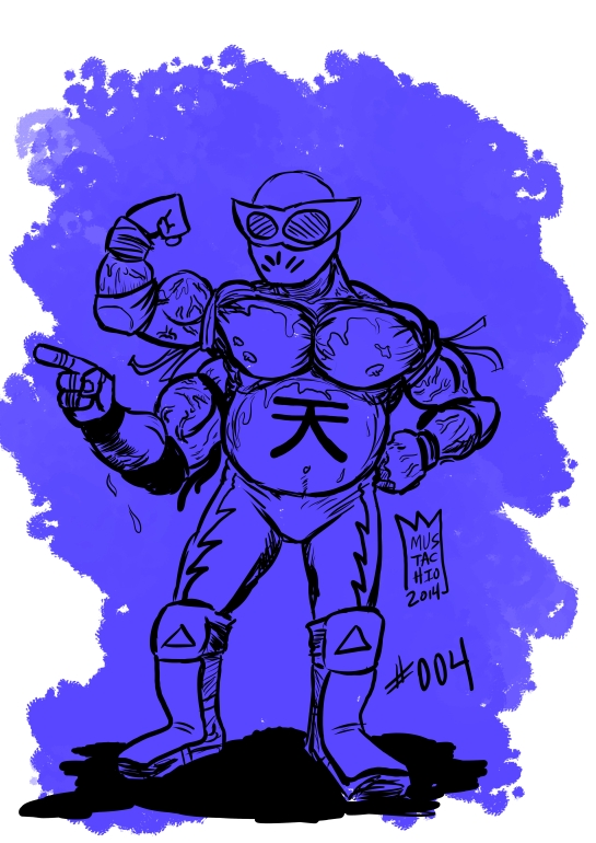 INTERDIMENSIONAL WRESTLERS 004