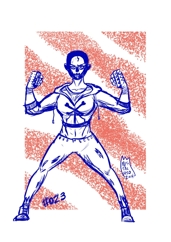 INTERDIMENSIONAL WRESTLERS 023
