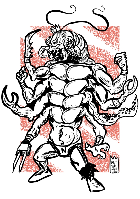 INTERDIMENSIONAL WRESTLERS 033