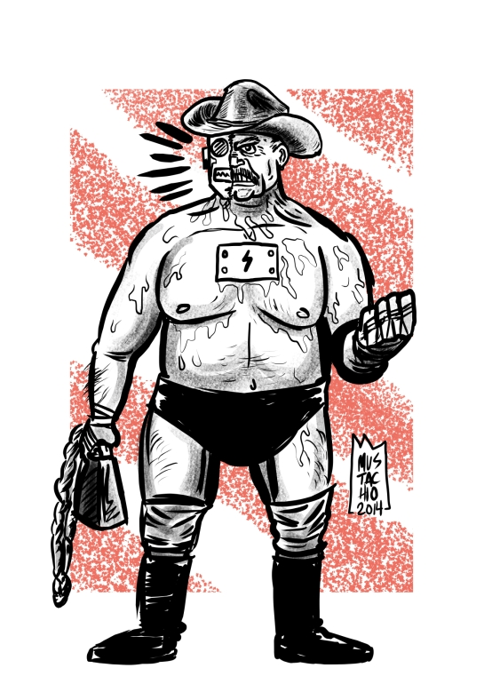 INTERDIMENSIONAL WRESTLERS 038