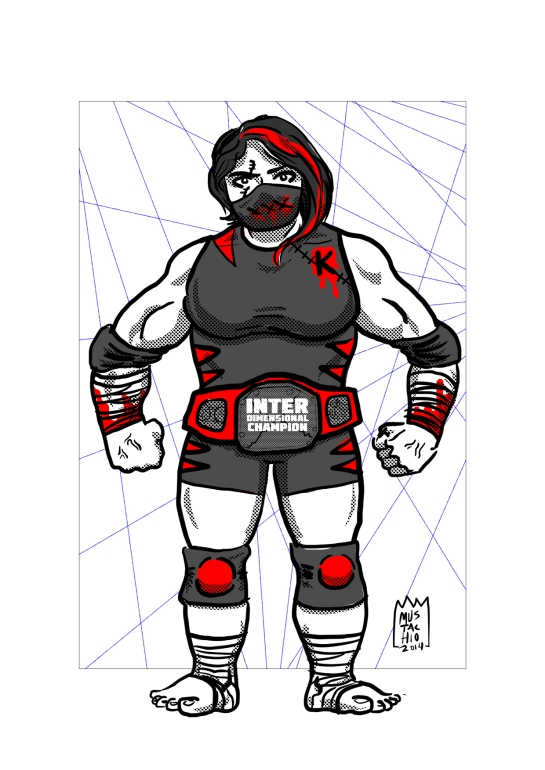 INTERDIMENSIONAL WRESTLERS 073