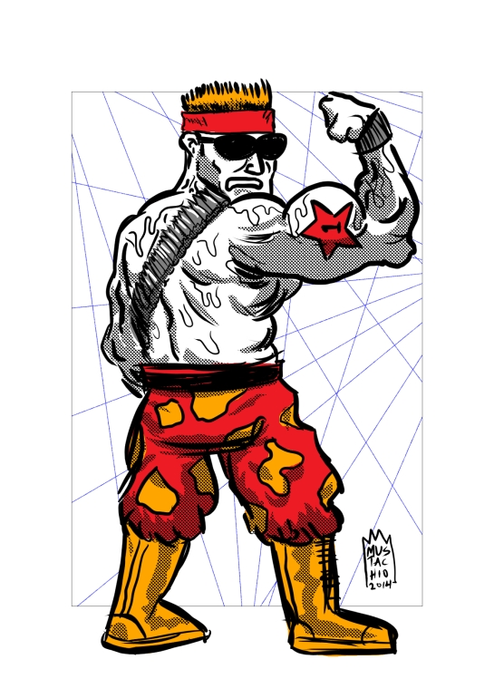 INTERDIMENSIONAL WRESTLERS 087