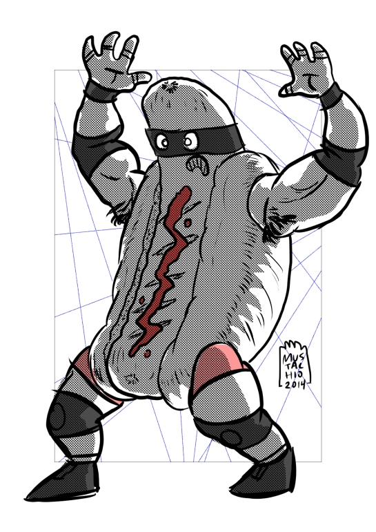INTERDIMENSIONAL WRESTLERS 106
