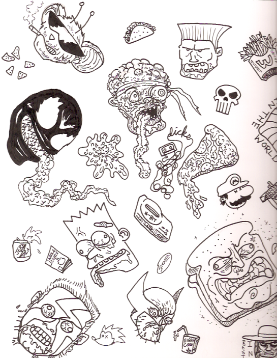 Example Doodle Page 1